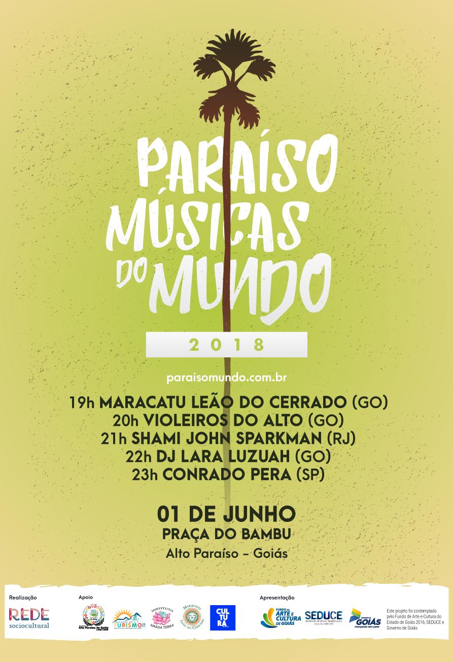 Paraíso Músicas do Mundo